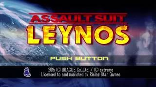 Assault Suit Leynos MY FIRST EVER PLAY - Japanese Game - Amazing 2D Mech Game