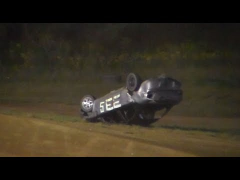 Dog Hollow Speedway - 8/25/17 | 5 On Track Wrecks!
