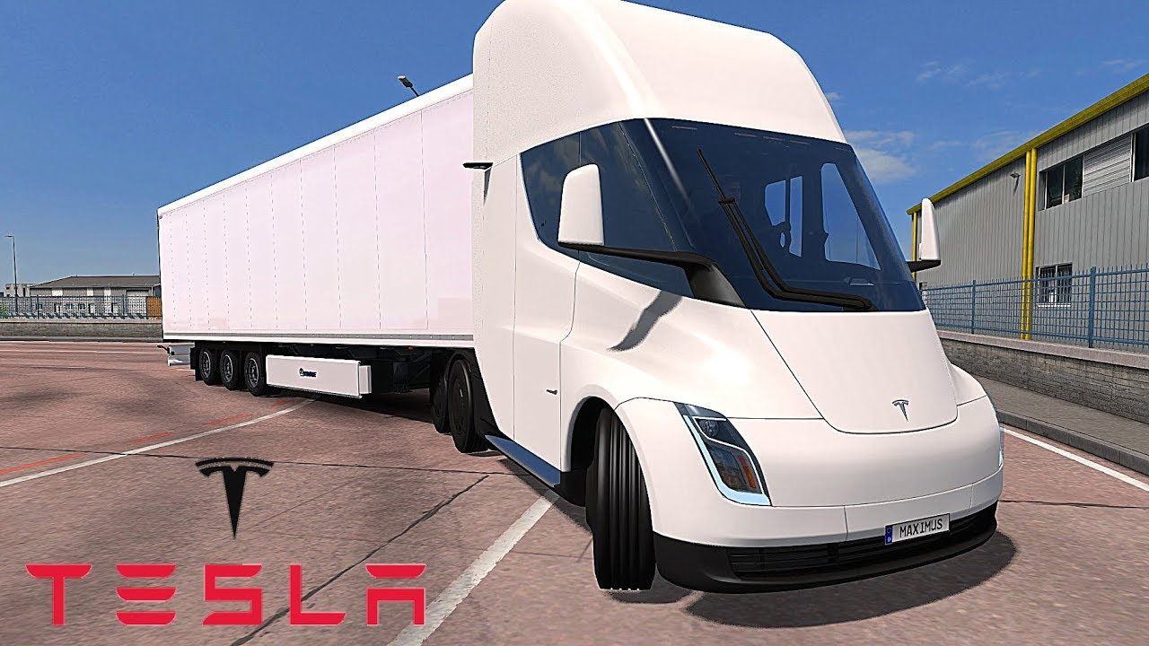 Ets2 V1 31 I Mod Tesla Semi Truck With Trailer 2019 Deutsch Hd Chris Maximus