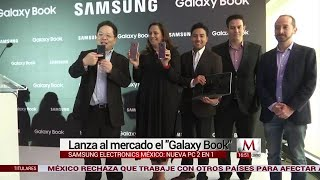 """Samsung lanza al mercado el """"Galaxy Book"""""""