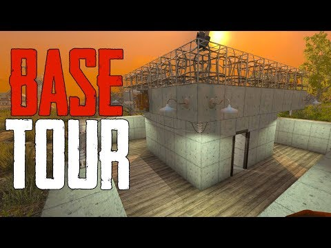 BASE TOUR - REINFORCED CONCRETE! - 7 Days to Die [Season 2 - #27]
