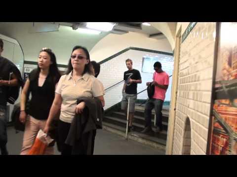Paris-Metro 6-Trocadero-Tour Eiffel