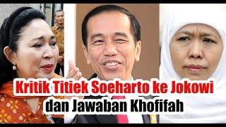 Download Video Kritik Titiek Soeharto ke Jokowi, Uang Rp 50 Ribu Dapat Apa Sekarang & Jawaban Khofifah MP3 3GP MP4