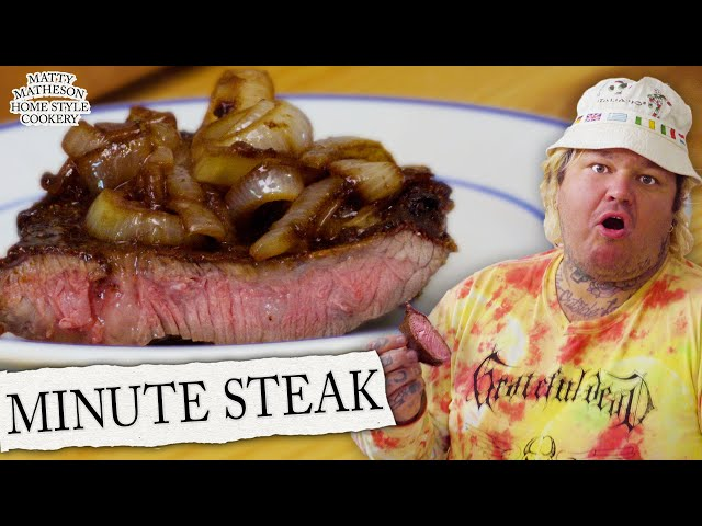 Minute Steak | Matty Matheson's Home Style Cookery Ep. 2
