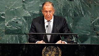 Речь Сергея Лаврова на 72-й сессии Генассамблеи ООН