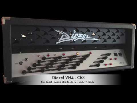 Diezel VH4 Channel 3 Test (metal)