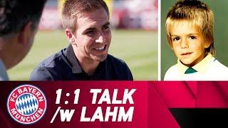Philipp Lahm - Final FC Bayern Interview! | 1:1 Talk