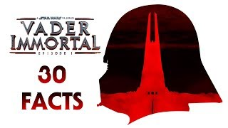 30 Facts from Vader Immortal Episode 1 - Easter Eggs, References, Legends Connections, and More!