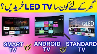 Best LED TV | Types of LED TV | Smart LED TV vs Android LED TV | Hindi/Urdu 2020