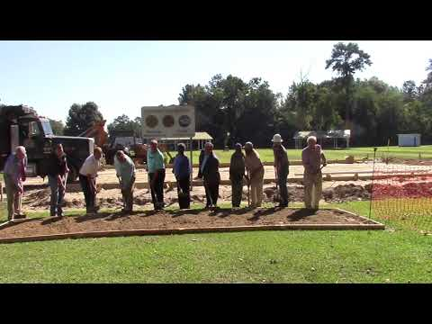 Naylor Community Center Ground Breaking - Ceremonial dirt toss - 2017-08-16