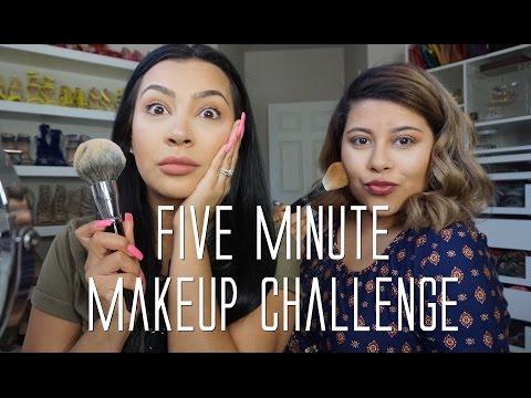 Five Minute Makeup Challenge
