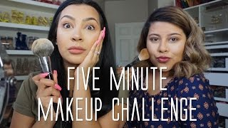 Download Five Minute Makeup Challenge Mp3 and Videos