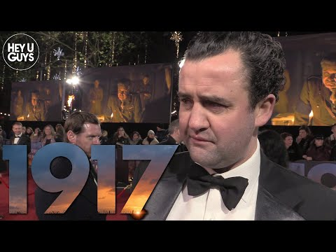 1917 World Premiere - Daniel Mays on working with Sam Mendes and the huge cast