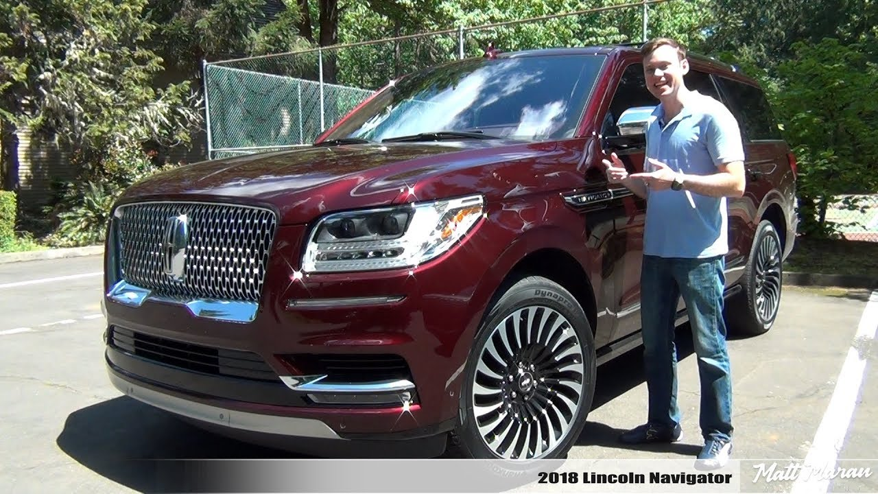 Review 2018 Lincoln Navigator Black Label Next Level Luxury