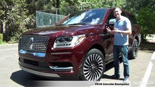Review: 2018 Lincoln Navigator Black Label - Next-Level Luxury!