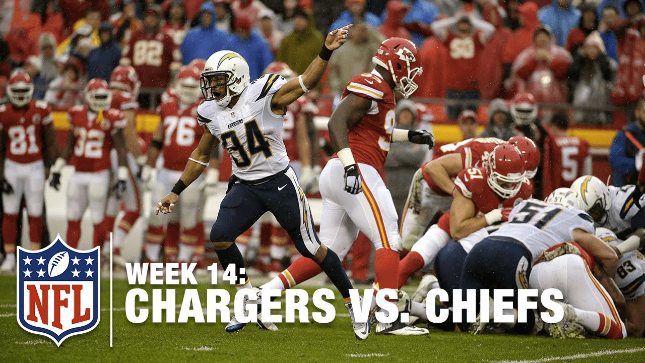 new concept a9fef 03636 Chargers Long Snapper Mike Windt Recovers Huge Chiefs' Fumble | Chargers  vs. Chiefs | NFL