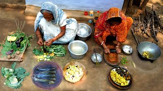 Traditional Village Food Cooking by our Granny  villfood vlog  Cooking Indian Recipes