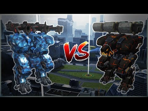 WR 🔥 Avalanche VS Trident FURY  - Comparison With Gameplay  War Robots