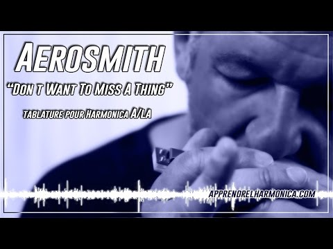 Aerosmith  I Don t Want To Miss A Thing  Harmonica A