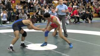2013 Juvenile National Championships: 50 kg Final Dave Sharma vs. Darthe Capellan