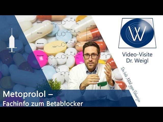 Betablocker Metoprolol - Millionenfach verkauft doch wie sind Wirkung, Nebenwirkungen & Nutzen?
