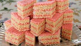Торт вафельный со сгущенкой