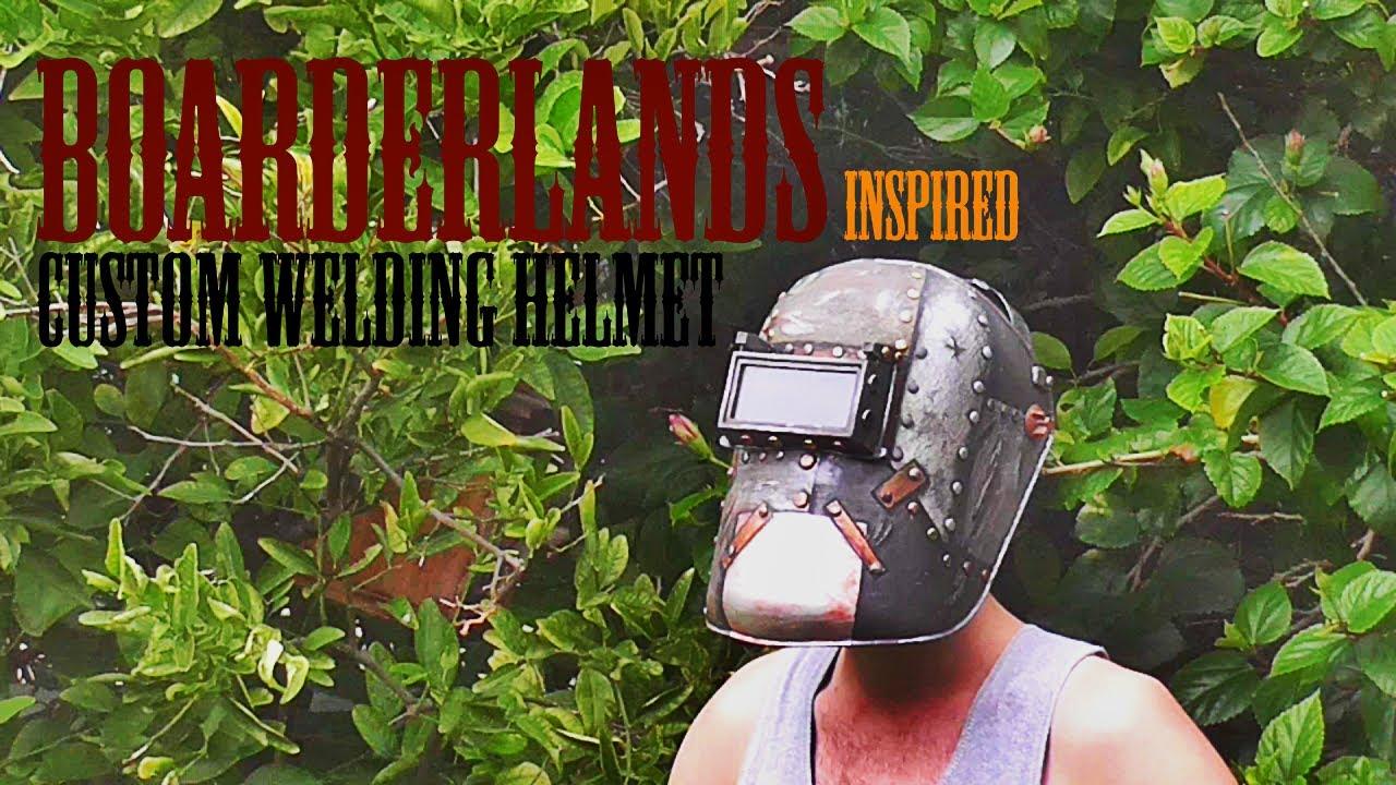 Custom Welding Helmets >> Custom Welding Helmet Youtube