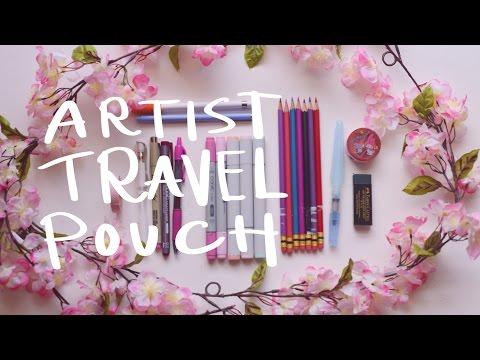 Artist Travel Pouch ~