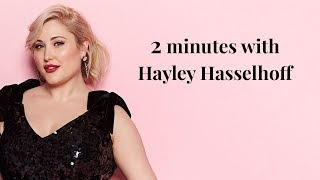 2 minutes with hayley hasselhoffvery had the chance to meet american actress, presenter and model, hasselhoff. click here subscribe: http://go...