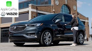 2018 Buick Enclave Avenir - Waze in Apple CarPlay demonstration