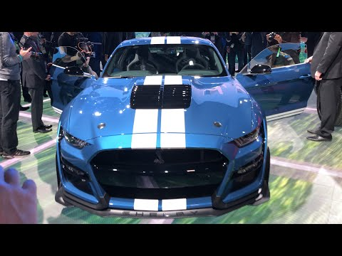 *st-Up close  Shelby GT Revealed at Detroit Auto Show!! NAIAS January ,