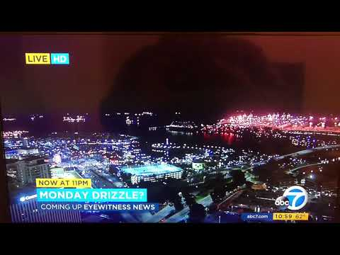 KABC ABC 7 Eyewitness News at 11pm Sunday teaser and breaking news open May 20, 2018