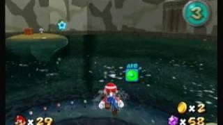 Super Mario Galaxy Game Playthrough Part 64 (Deep Dark Galaxy Hidden Star #5)