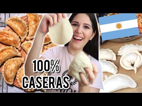 EMPANADAS ARGENTINAS: RELLENO, MASA + 6 REPULGUES! EXPECTATIVA / REALIDAD | Steph T