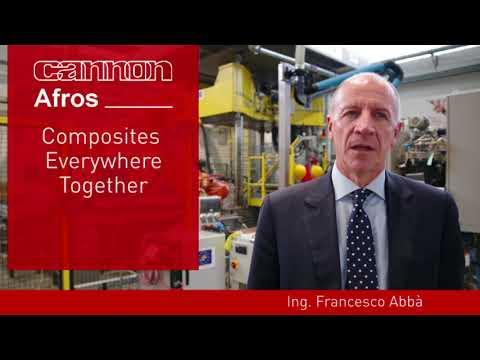 Cannon @ JEC 2018, aerospace industry