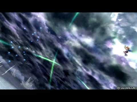 Warrior Of Light VS Gilgamesh Ghost (Bartz) cinematic replay