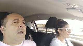 Donde las dan las toman...    🐄🦌                            #pacoymaite #coche #humor #youjaja