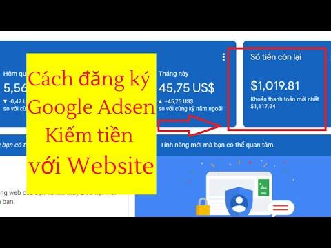 Hướng dẫn cách đăng ký Google Adsense bật quảng cáo kiếm tiền với website WordPress