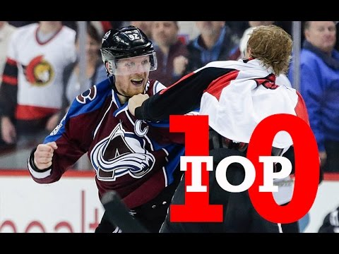Thumbnail: Top Ten NHL Hockey Fights of March 2017