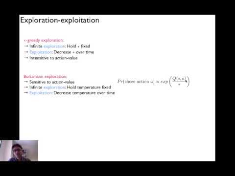 Tutorial on reinforcement learning (learning-based approaches to MDP and POMDP)