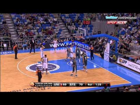 Unicaja Malaga - Anadolu Efes Maç Sonu (THY Euroleague)
