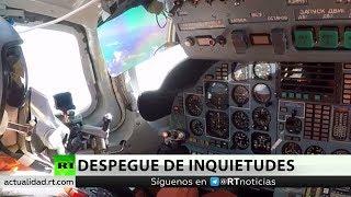 Realizaron las maniobras de Tu-160 rusos y cazas venezolanos vistas desde cabina
