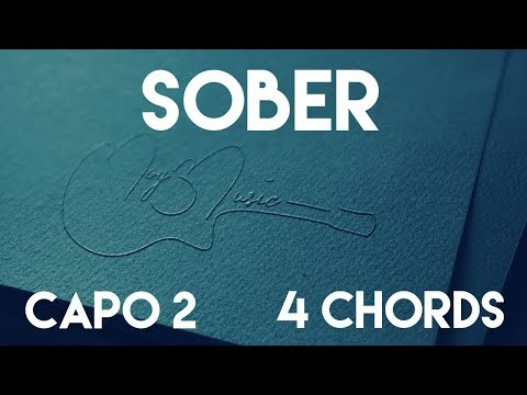 How To Play Sober by G-Eazy feat. Charlie Puth | Capo 2 (4 Chords) Guitar Lesson