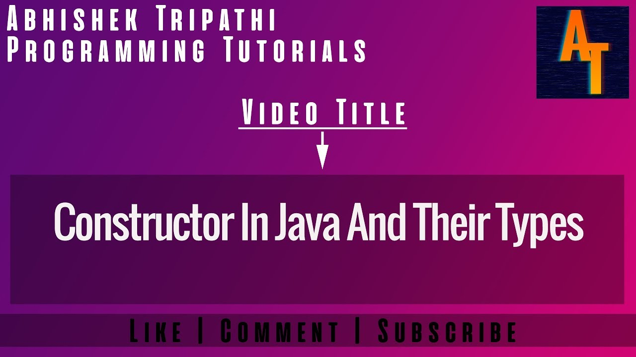 Constructors in java part 11 constructor in java and types of constructors in java part 11 constructor in java and types of constructors in java baditri Image collections