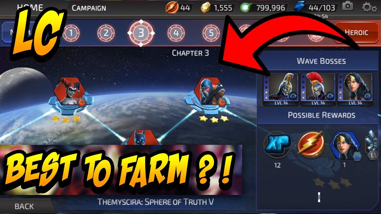 DC Legends - Best Characters To Farm (Farmable Characters)