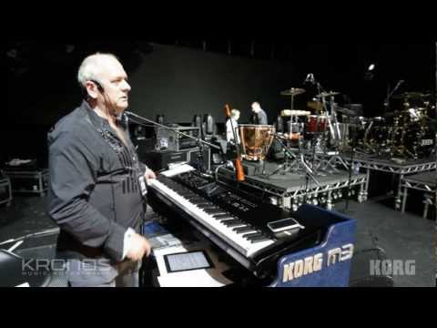 Queen's Keyboard Player Spike Edney - Behind the scenes with the KORG Kronos