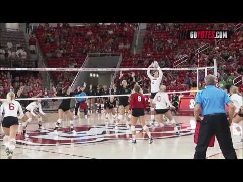 Volleyball: South Dakota vs. North Dakota Highlights