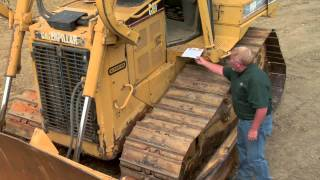 cat dozer   daily walkaround inspection