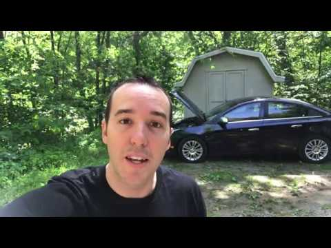 How to replace Chevy Cruze Starter – FAST & EASY!