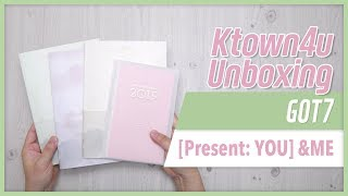Baixar [Ktown4u Unboxing] GOT7 - [Present: YOU] & ME 갓세븐 ガッセブン 언박싱 Kpop